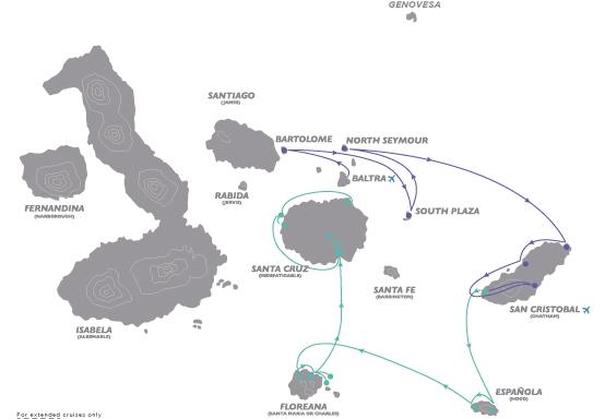 Galapagos Islands Small Yacht Cruise CME - Bio Bio