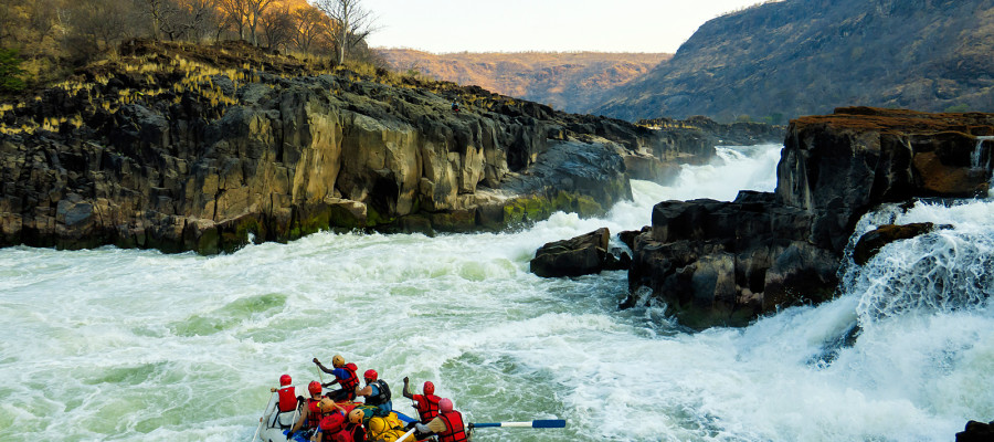 Zambezi River Rafting Adventure
