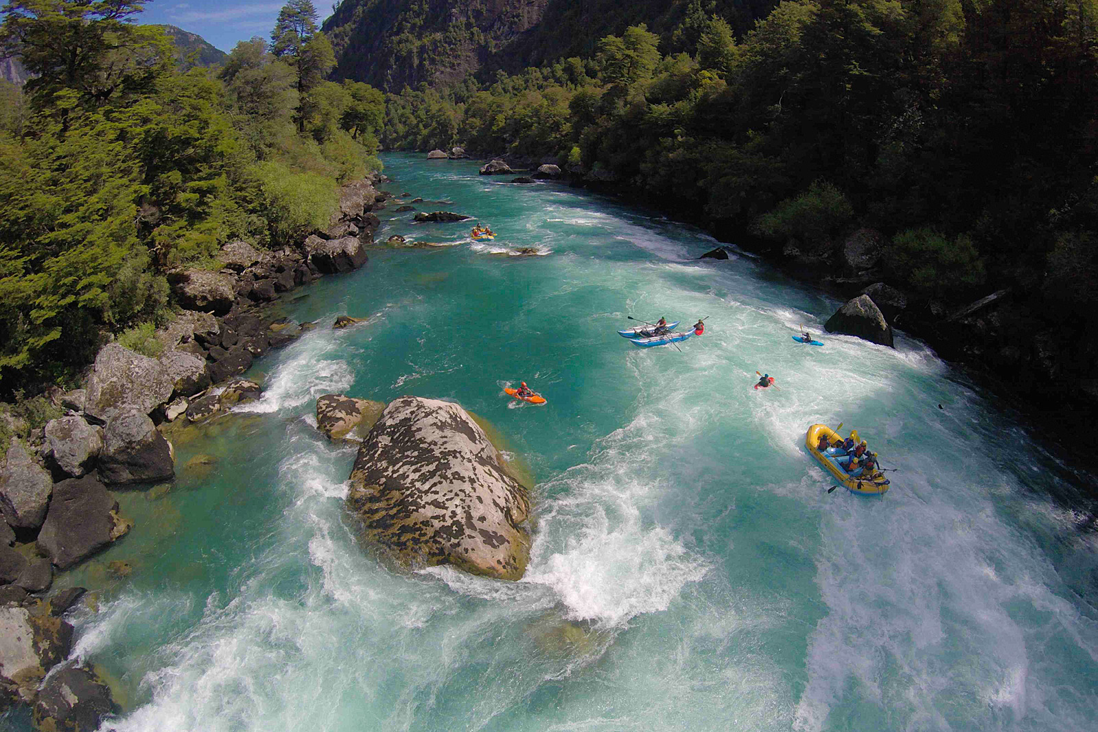 Futaleufu River Rafting Adventure