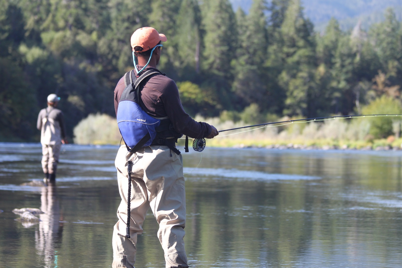 fly fishing upper klamath river