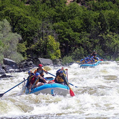 rafting the upper klamath