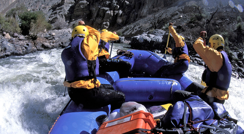 Cotahausi Canyon River Rafting Adventure