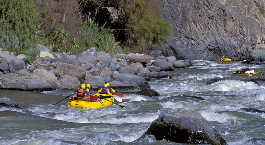 Cotahuasi River Canyon rafting adventure
