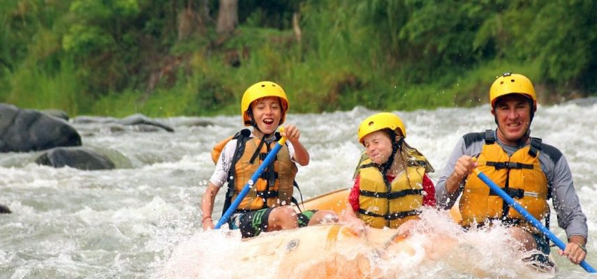 Family Rafting Vacation with BBX