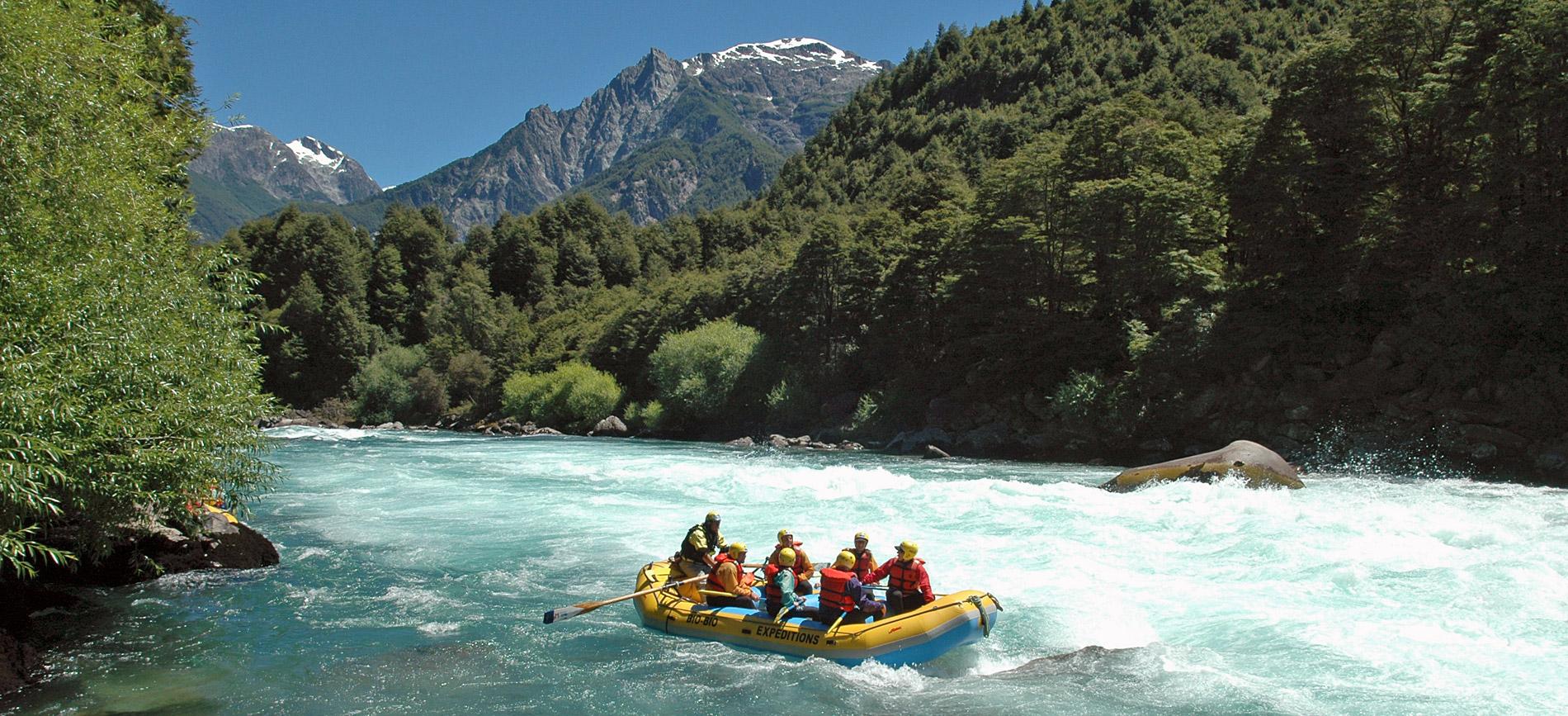 Bio Bio Expeditions adventure travel - the Fu